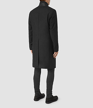 Uomo Lovell Coat (Black/Charcoal) - product_image_alt_text_6