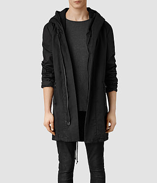 Mens Chilton Parka Jacket (Black)