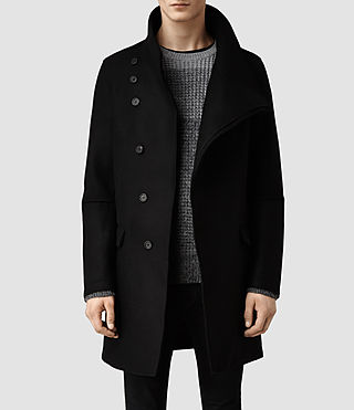 Mens Sylvan Coat (Black)