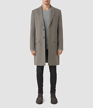 Mens Rainer Coat (Light Khaki)