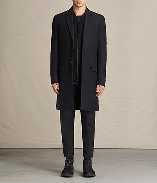 Mens Rainer Coat (INK NAVY)