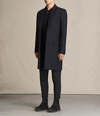 Hommes Rainer Coat (INK NAVY) - product_image_alt_text_3