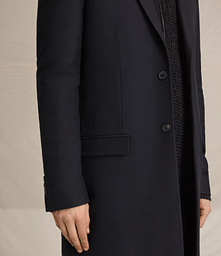 Hommes Rainer Coat (INK NAVY) - product_image_alt_text_5
