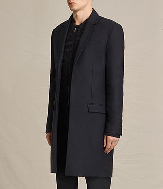 Hommes Rainer Coat (INK NAVY) - product_image_alt_text_6