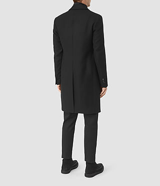 Mens Rainer Coat (Black) - product_image_alt_text_5