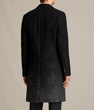 Mens Bodin Coat (Black/Charcoal) - product_image_alt_text_5