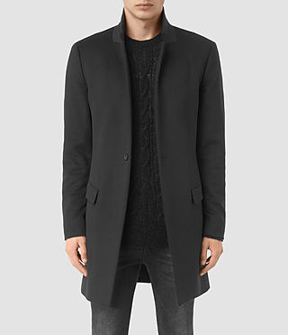 Hommes Manteau Fido (Charcoal Grey)