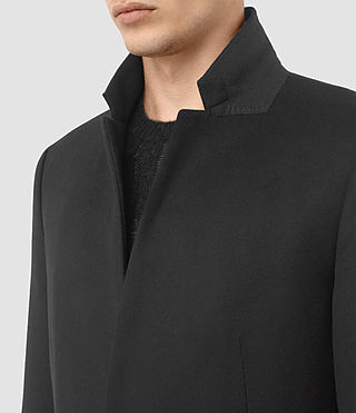 Herren Fido Coat (Charcoal Grey) - product_image_alt_text_2