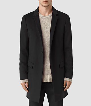 Mens Fido Coat (Black) - product_image_alt_text_1