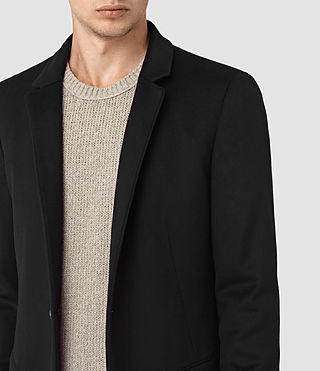 Men's Fido Coat (Black) - product_image_alt_text_2