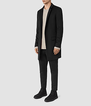 Men's Fido Coat (Black) - product_image_alt_text_3