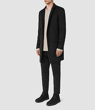 Hommes Fido Coat (Black) - product_image_alt_text_3