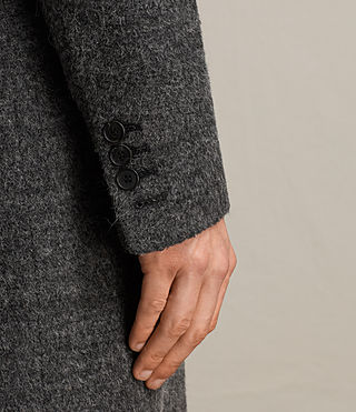 Mens Abel Coat (Dark Grey) - product_image_alt_text_2