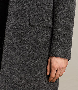Mens Abel Coat (Dark Grey) - product_image_alt_text_4