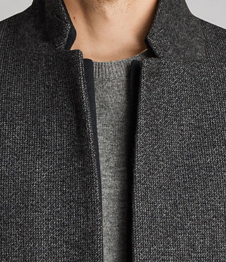 Hommes Falun Coat (Charcoal Grey) - product_image_alt_text_2
