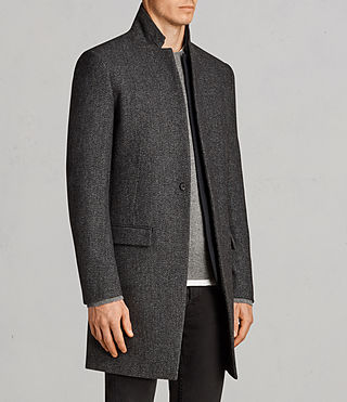 Hommes Falun Coat (Charcoal Grey) - product_image_alt_text_3