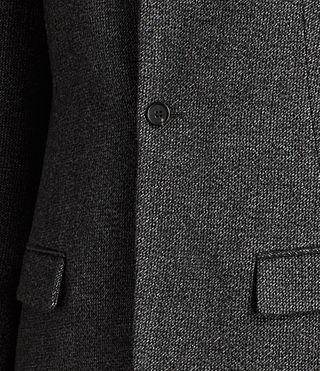 Hommes Falun Coat (Charcoal Grey) - product_image_alt_text_5