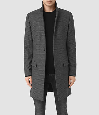 Hommes Manteau Navan (Charcoal Grey)