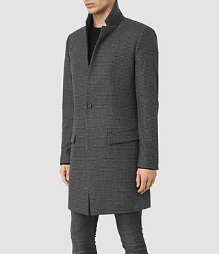 Hommes Navan Coat (Charcoal Grey) - product_image_alt_text_3