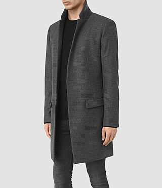 Hommes Navan Coat (Charcoal Grey) - product_image_alt_text_4