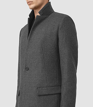 Hommes Navan Coat (Charcoal Grey) - product_image_alt_text_5