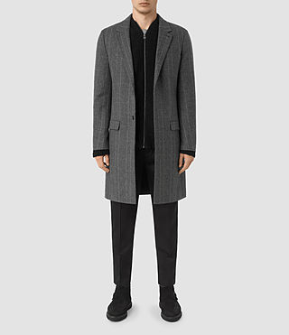 Hommes Manteau Sligo (Light Grey)