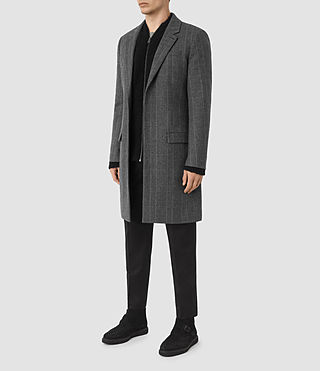 Mens Sligo Coat (Light Grey) - product_image_alt_text_2