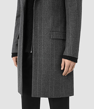Hombres Sligo Coat (Light Grey) - product_image_alt_text_5