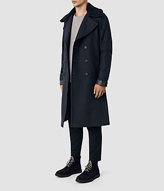 Uomo Forte Coat (INK NAVY) - product_image_alt_text_4