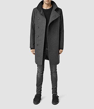 Mens Grove Coat (Charcoal)