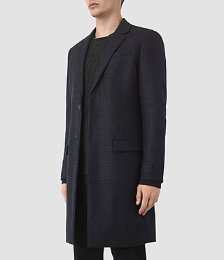Mens Arklow Coat (Dark Ink) - product_image_alt_text_2
