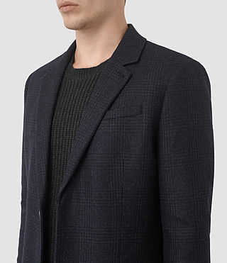 Mens Arklow Coat (Dark Ink) - product_image_alt_text_5