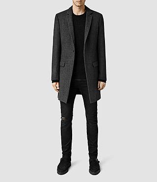 Mens Alba Coat (Charcoal Grey)