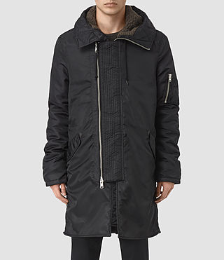 Mens Mason Parka (Black)