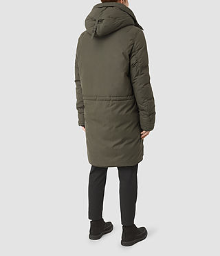 Mens Hayes Parka Coat (Khaki) - product_image_alt_text_5