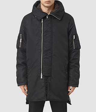 Mens Aster Parka Coat (INK NAVY)