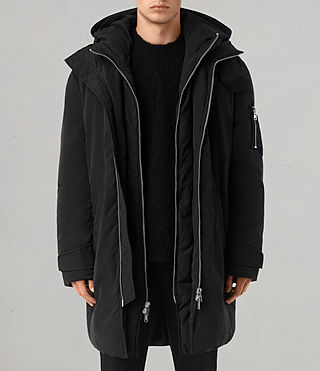 Mens Shields Parka (Black)