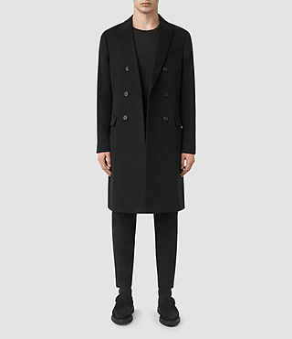 Mens Strand Coat (Black)