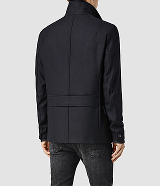 Men's Wade Peacoat (INK NAVY) - product_image_alt_text_3