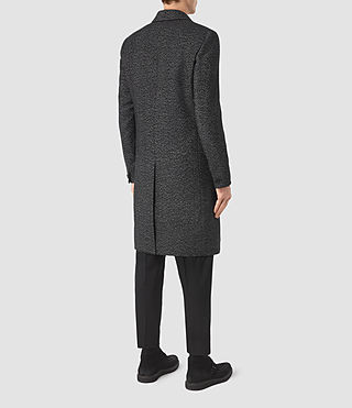 Uomo Refine Coat (Black/White) - product_image_alt_text_5