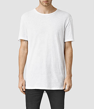 Hombres Extend Crew T-Shirt (Optic White)