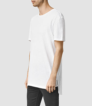 Mens Extend Crew T-Shirt (Optic White) - product_image_alt_text_2