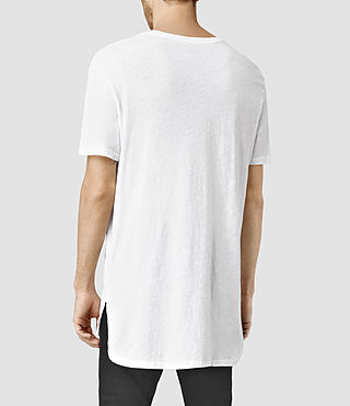 Mens Extend Crew T-Shirt (Optic White) - product_image_alt_text_3