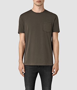 Uomo Apollo Ss Crew (Khaki Brown) -