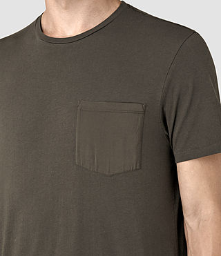 Uomo Apollo Ss Crew (Khaki Brown) - product_image_alt_text_2