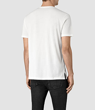 Hombre Apollo Ss Crew (Chalk White) - product_image_alt_text_4