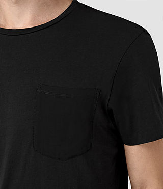 Hombre Apollo Ss Crew (Black/Black) - product_image_alt_text_2