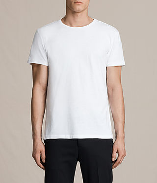 Herren Octam Crew T-Shirt (Optic White)