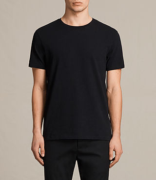 Mens Octam Crew T-Shirt (Jet Black)