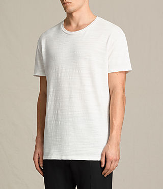 Men's Tyed Crew T-Shirt (Chalk White) - product_image_alt_text_3